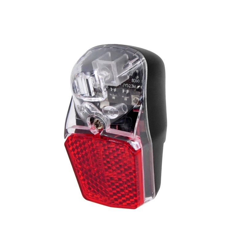fahrrad dynamo r ckleuchte mit standlicht reflektor und. Black Bedroom Furniture Sets. Home Design Ideas